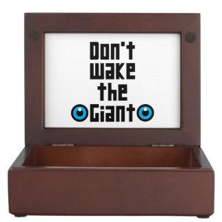 Don't wake the Giant Keepsake Box