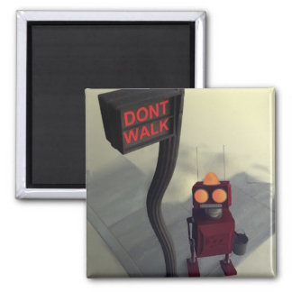 Don't Walk Magnet