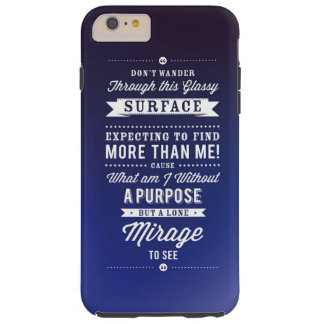 Don't Wander... Tough iPhone 6 Plus Case