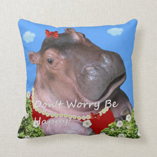 Don't Worry Be Happy! Cushion