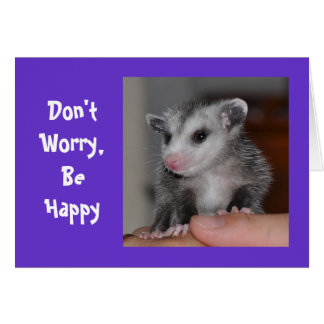 Don't Worry Be, Happy - Notecard