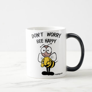 Don't Worry Bee Happy Magic Mug