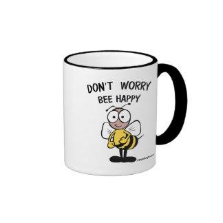 Don't Worry Bee Happy Mug