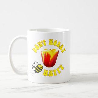 Don't Worry BEE Happy mug 🐝 Ottawa Tulip