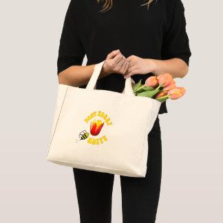 Don't Worry BEE Happy tote bag 🐝 Ottawa Tulip