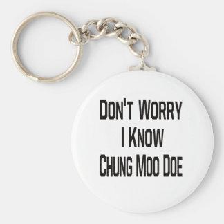 Don't Worry I Know Chung Moo Doe Keychains