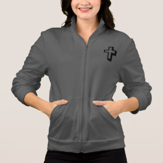 Don't Worry Jogger Jacket w/Shadow Cross