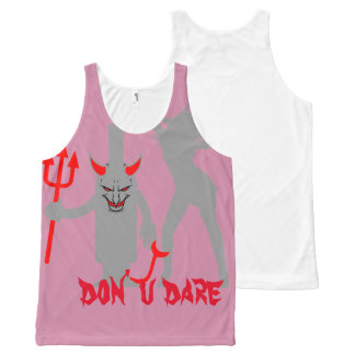 don't you dare All-Over print tank top