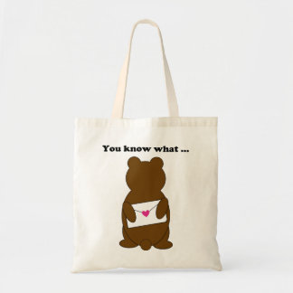 Don't you think? that budget tote bag
