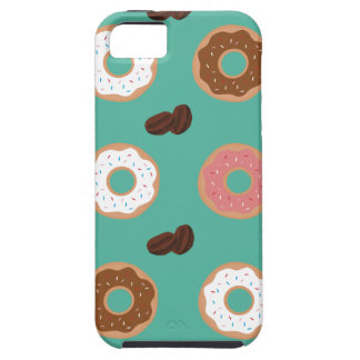 Donut and Coffee Beans iPhone 5 Case