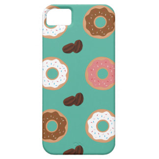 Donut and Coffee Beans iPhone 5 Cases