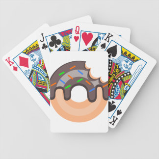 donut bicycle playing cards