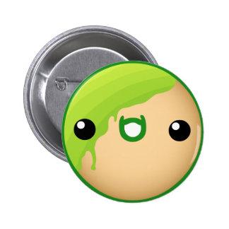 Donut Button Green