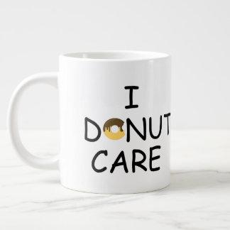 Donut Care Large Coffee Mug