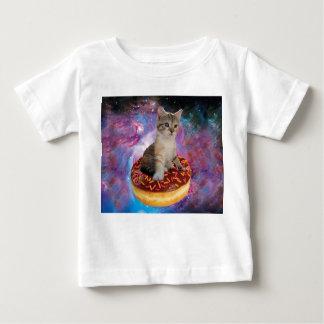 Donut cat-cat space-kitty-cute cats-pet-feline baby T-Shirt