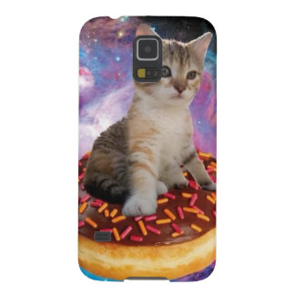Donut cat-cat space-kitty-cute cats-pet-feline case for galaxy s5