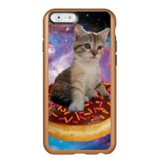 Donut cat-cat space-kitty-cute cats-pet-feline incipio feather® shine iPhone 6 case