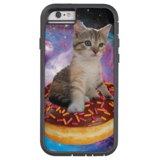 Donut cat-cat space-kitty-cute cats-pet-feline tough xtreme iPhone 6 case