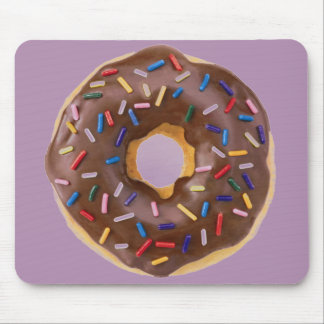 donut design mouse pad