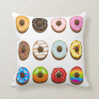 Donut Girls Room Decor Pillow Nursery Gift Teen