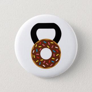 Donut Kettlebell 6 Cm Round Badge