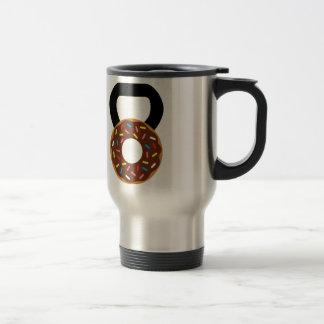 Donut Kettlebell Travel Mug