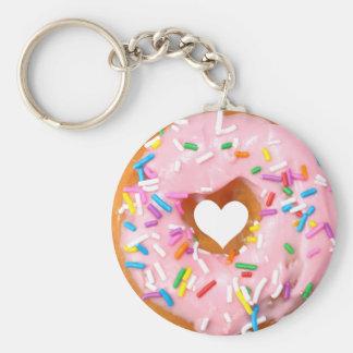 Donut Key Ring