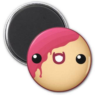Donut Magnet Red