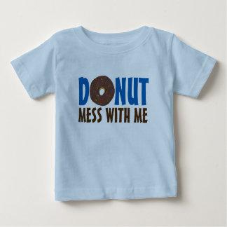 Donut Mess With Me Chocolate Doughnut Shirt