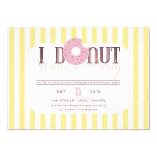 Donut Party Invite