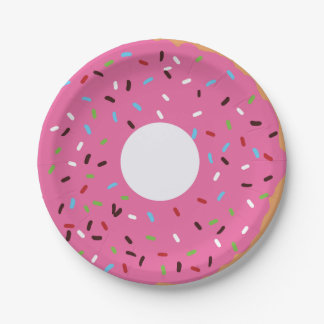 Donut Party Plate