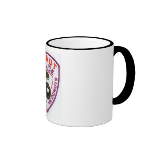 Donut Police Patch 15oz coffee Mug Ringer Mug