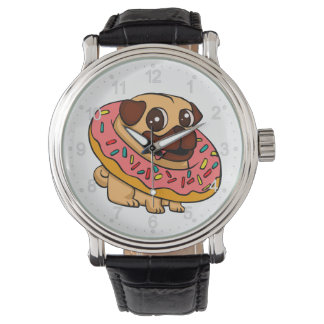 Donut pug watch