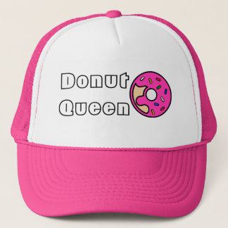 Donut Queen Pink Frosted Trucker Hat