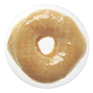 Donut Raised Glazed Ceramic Knob