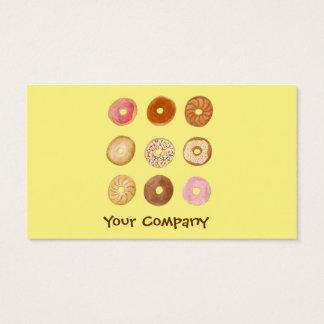 Donut Shop Business Card