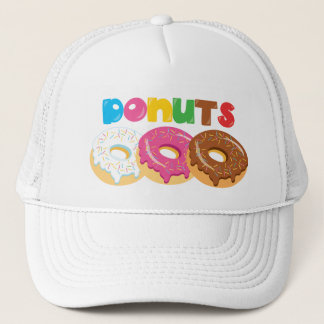 Donut Shop Festival Bakery Fair business hat