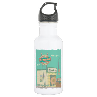 Donut Shop-from Route 66 Memories 532 Ml Water Bottle