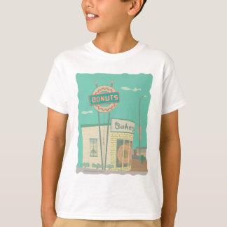 Donut Shop-from Route 66 Memories T-Shirt