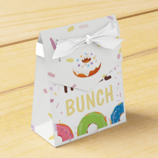 Donut themed Birthday Party Guest Thank You Favour Box