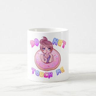 DONUT touch me mug !!