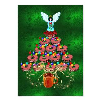 "Donut Tree 5"" X 7"" Invitation Card"