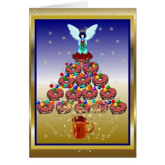 Donut Tree Note Card
