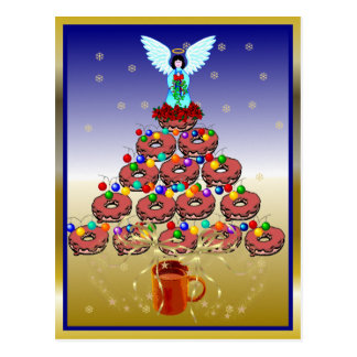 Donut Tree Postcard