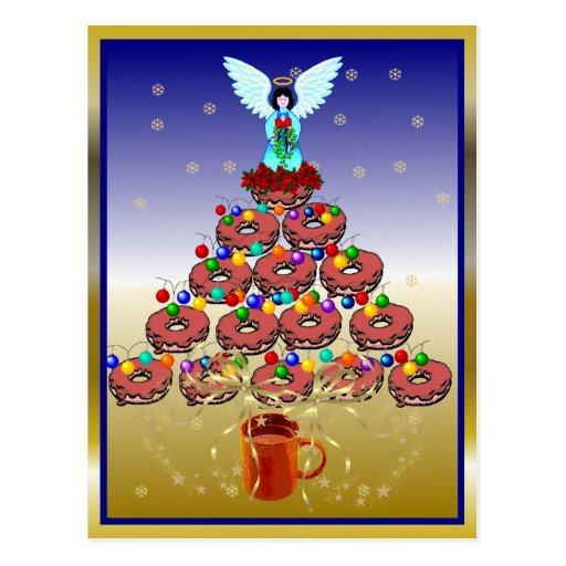 Donut Tree Postcards