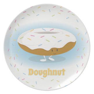 Donut with Sprinkles | Melamine Plate
