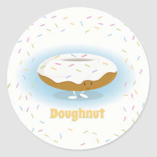 Donut with Sprinkles | Sticker