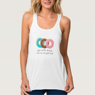 Donuts addict singlet
