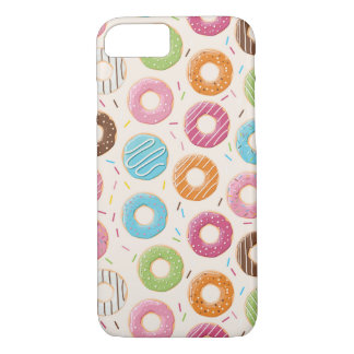 Donuts Apple iPhone 7, Barely There Phone Case