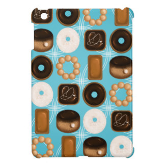 Donuts Blue iPad Mini Cover